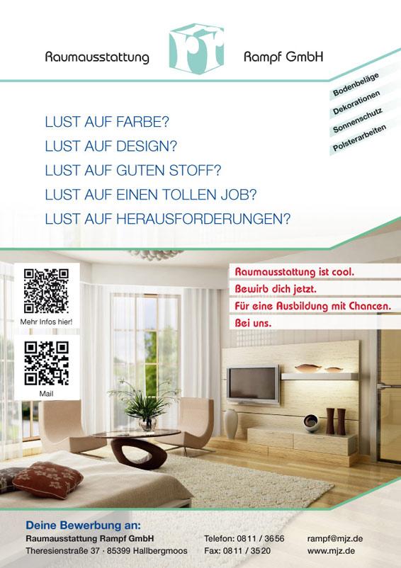Raumausstatter ausbildung  Azubi gesucht – Raumausstattung Rampf GmbH
